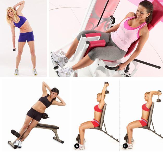Упражнения в зале чтобы сбросить вес