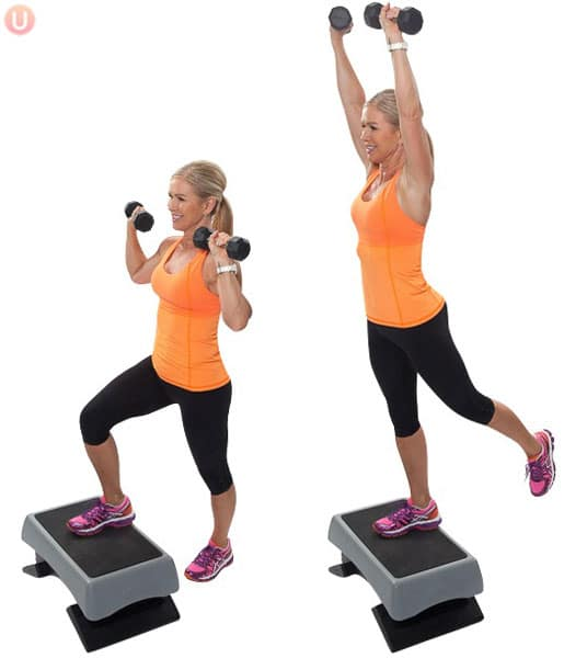 Step-Up-with-Overhead-Press