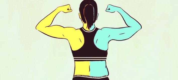 Стратегия новичка: худеть или набирать мышцы?
