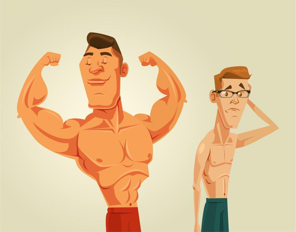 набрать мышцы