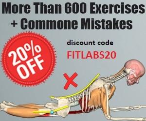 Скидка 20% на годовую подписку muscleandmotion.com по промокоду FITLABS20